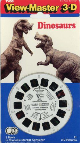 View-Master Classic 3Reel Dinosaurs, 2015 Amazon Top Rated Viewfinders #Toy