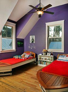 Purple Boys Room Kids Room Wall Color Purple Rooms Lavender Bedroom Decor
