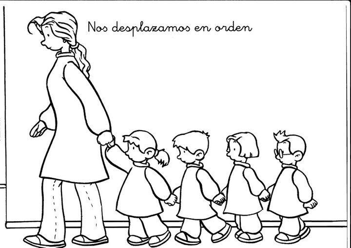 Maestra De Infantil Habitos Diarios En Infantil Normas Y Rutinas Imagenes De Convivencia Escolar Normas Del Aula Normas De Convivencia