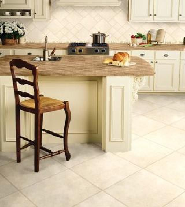 kitchen floor tiles that are classic, durable, and trend-proof