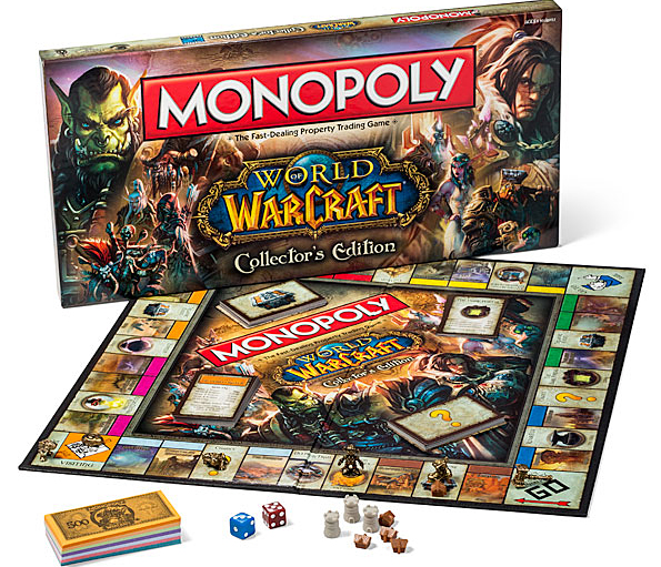 Monopoly World of Warcraft Collector's Edition World of