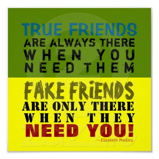 FAKE Vs TRUE 60x60 Poster Quotes Pinterest True Friends Unique Quotes About True Friendship And Fake Friends