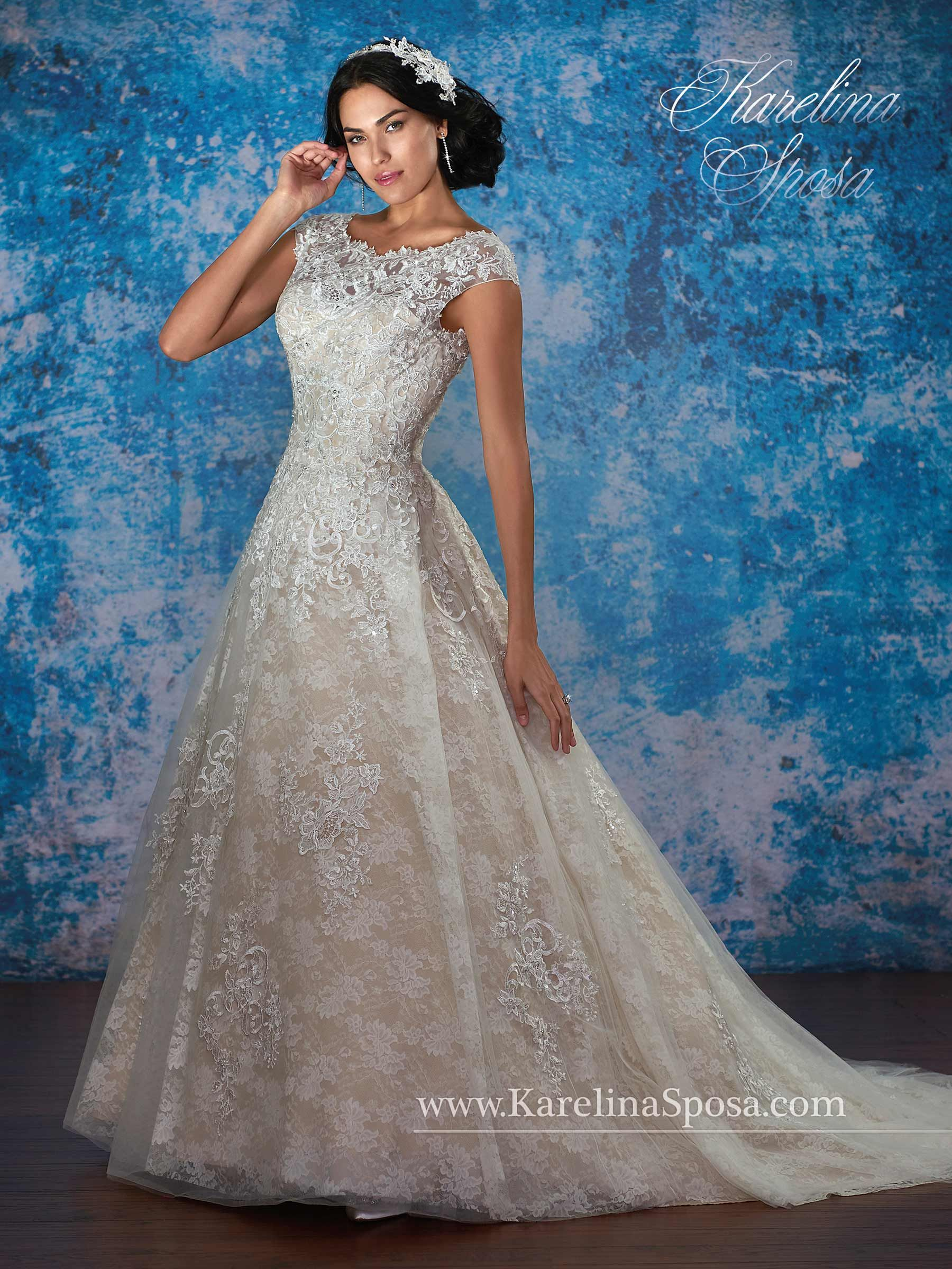 Bridal Gowns - Karelina Sposa - Style: C8072 by Mary\'s Bridal Gowns ...