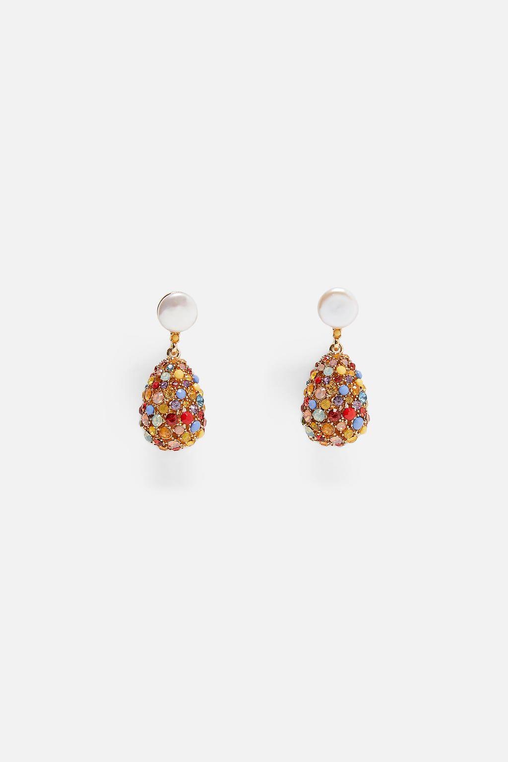 PENDIENTES LAGRIMA JOYA | Ohrringe, Juwelen