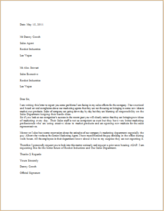 Grievance Letter Download At HttpWwwTemplateinnCom