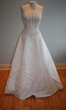 other 3149 wedding dress  sample size 12 125
