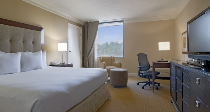 Hilton North Raleigh Hotel Nc Hospitality King Room