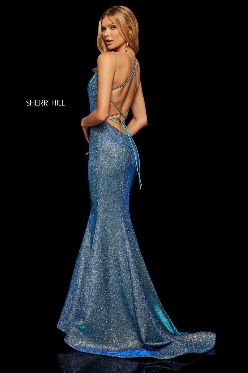 2f4906eab93 Sherri Hill 52614 sexy back prom dress. www.bravurafashion.com Bravura  Fashion is located in Marietta