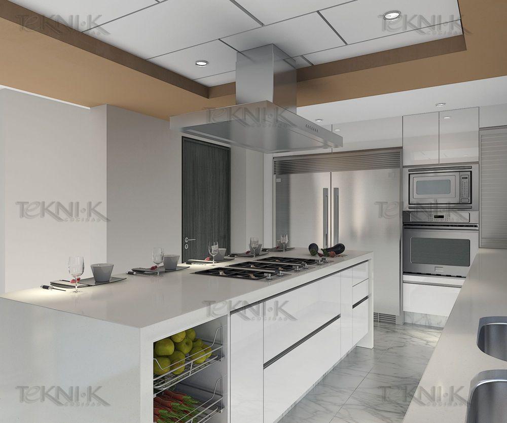 Cocinas integrales tekni k google cocinas blancas for Disenos de cocinas en cuba