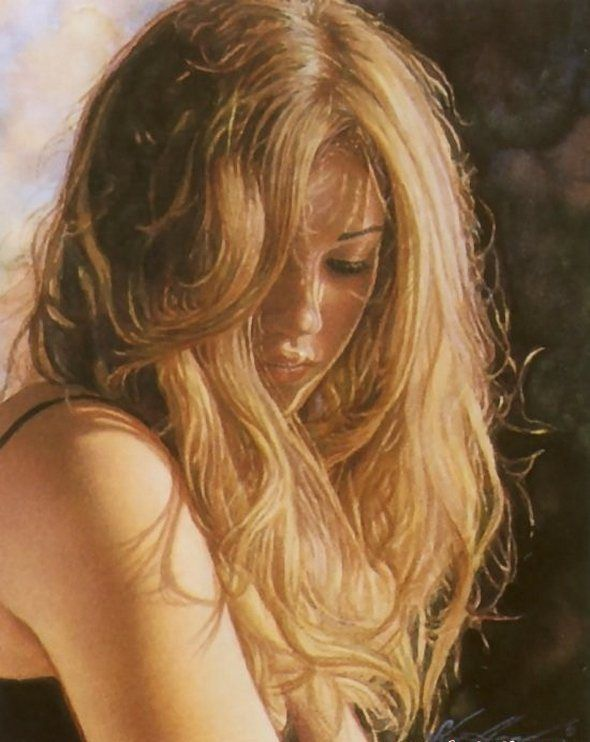 Steve Hanks is recognized as one of the best watercolor artists working today. The detail, color and realism of Steve Hanks' paintings are unheard of in this difficult medium. A softly worn patterned quilt, the play of light on the thin veil of surf on sand, or the delicate expression of a child—-Steve Hanks captures these patterns of life better than anyone.: