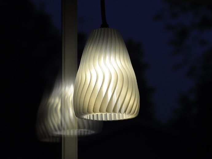Folded Lamp Shade Mk2 By Hakalan Thingiverse Lamp Lamp Shade Lights