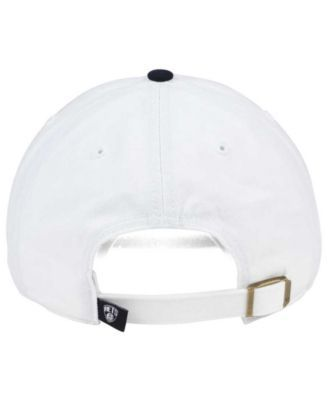 timeless design 60813 56e38  47 Brand Brooklyn Nets 2-Tone Clean Up Cap - White Adjustable.