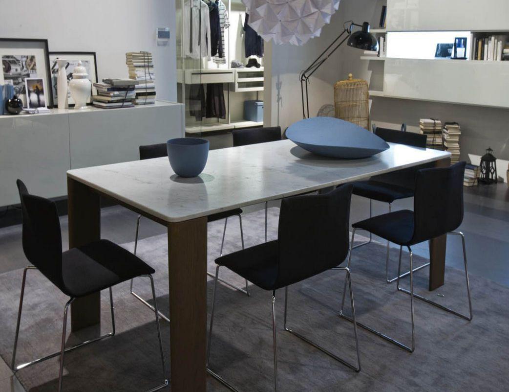 Mesa de comedor moderna de mrmol de interior KEEL by Claesson
