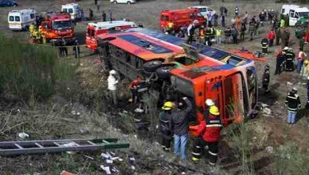Terrible accidente en Chile deja 11 muertos y 15 heridos