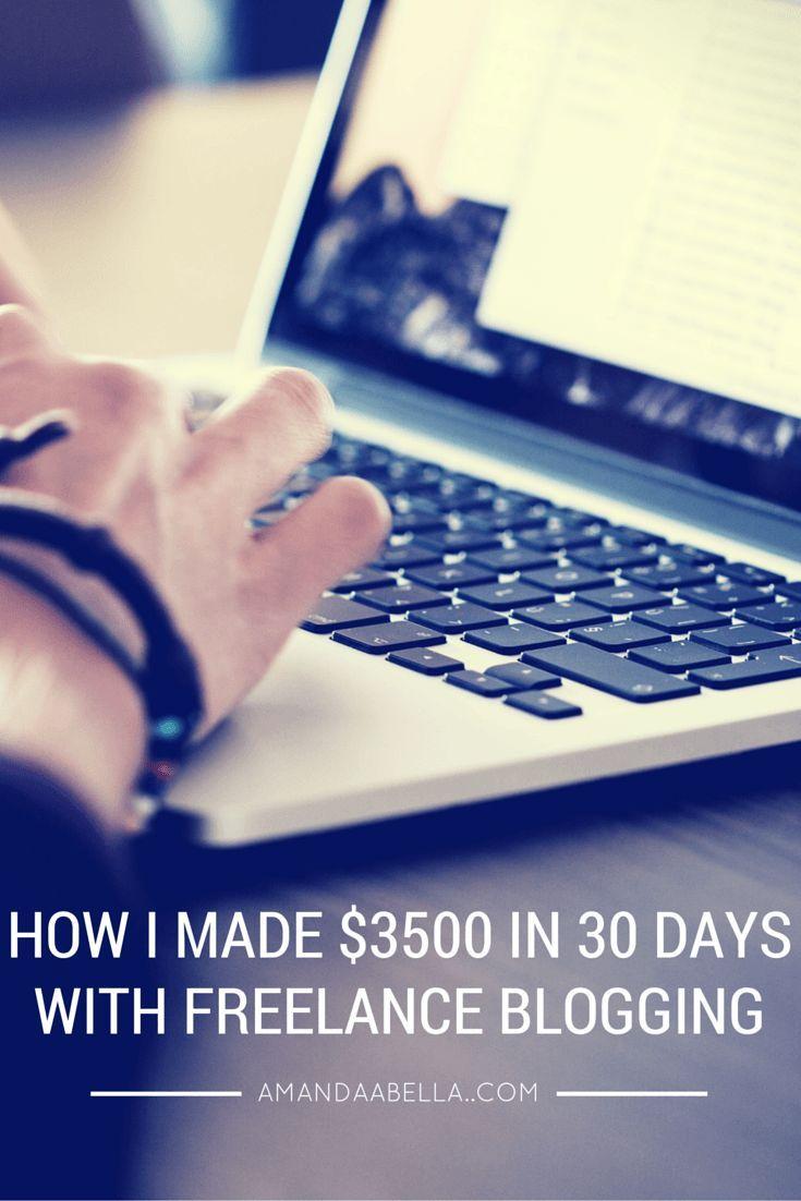 HOW I MADE $3500