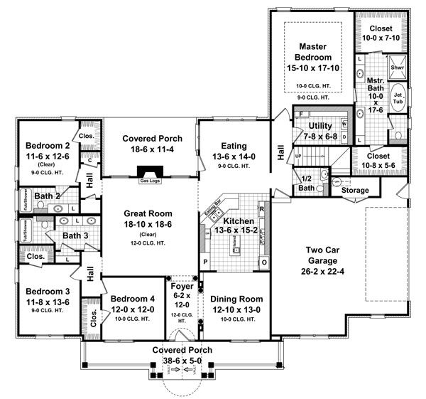 The birchwood cove house plan bedrooms and baths designers also rh pinterest