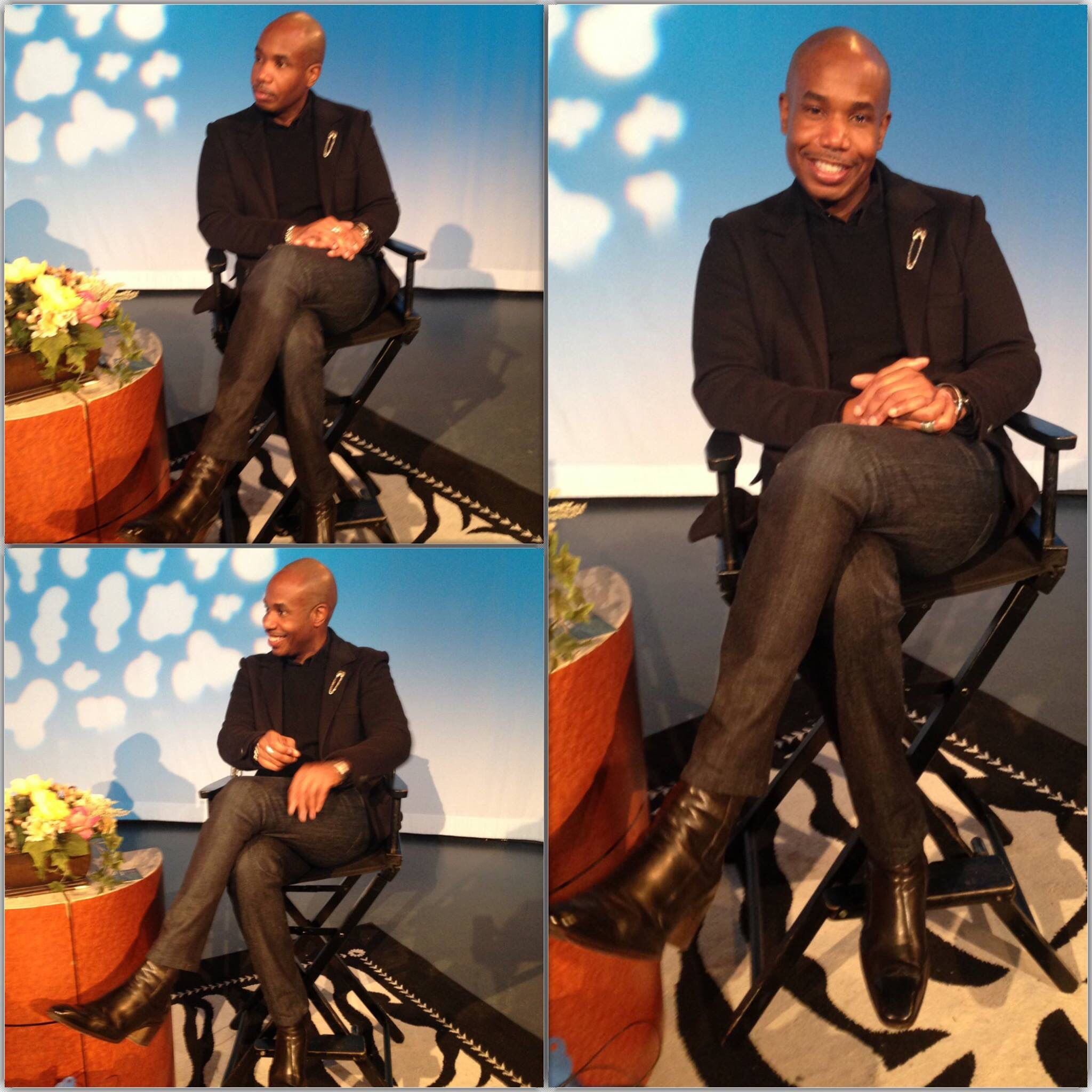 """""""Personal style can not be duplicated, only enhanced."""" Celebrity Fashion Stylist, Image Consultant and LIM Adjunct Professor, Carlton Spence, on the next Model Behavior with Sharon Quinn. Carlton will discuss garment construction, fit and image/fashion styling.  Model Behavior with Sharon Quinn airs every Saturday Morning @ 11:30AM on MNN Lifestyle Channel 2 (FIOS 34, RNC 83, TWC 56 and 1996 and TWC HD 1995).  Live Stream: http://goo.gl/twpvGL  #ModelBehaviorwithSharonQuinn #MBWSQ…"""