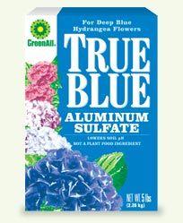 Exceptional True Blue (Aluminum Sulfate). Garden Care
