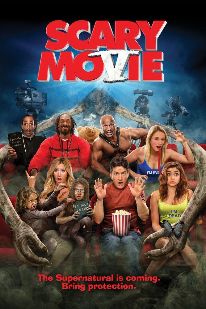 Scary Movie 5 Movie Poster Ashley Tisdale Simon Rex Erica Ash