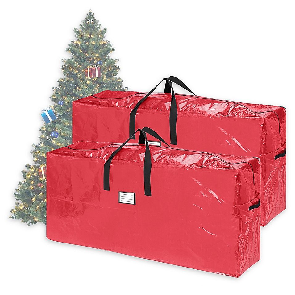 Elf Stor 9 Foot Christmas Tree Bag Pack Of 2 Christmas Tree Bag Christmas Tree Storage Bag
