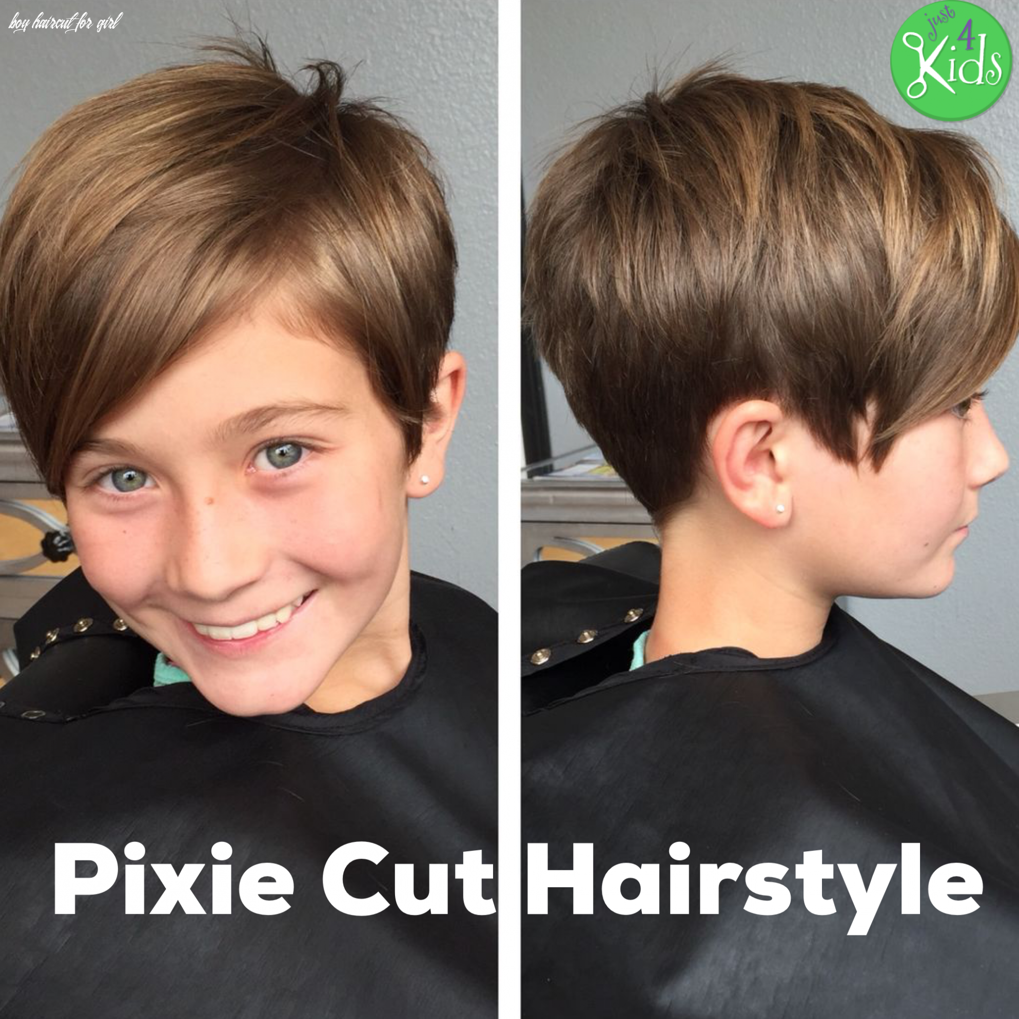 9 Boy Haircut For Girl In 2020 Kids Girl Haircuts Girls Short Haircuts Kids Short Hair For Kids
