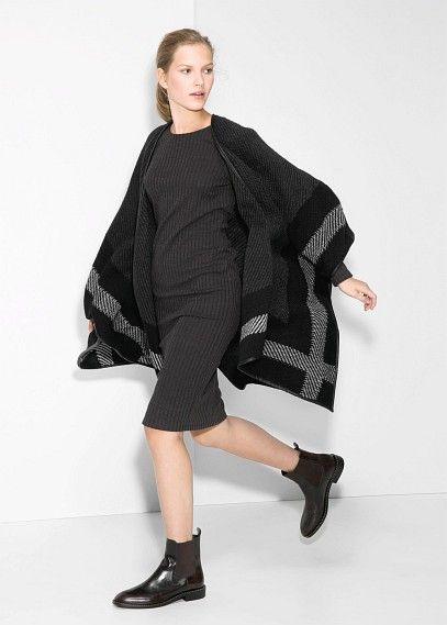 Cape laine et alpaga - Manteaux pour Femme | OUTLET