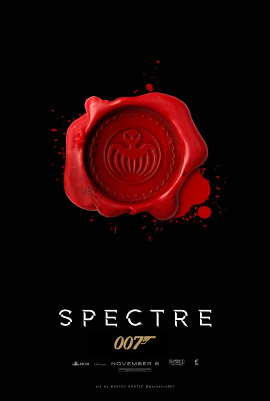 Spectre, James Bond. I can't wait to see this!