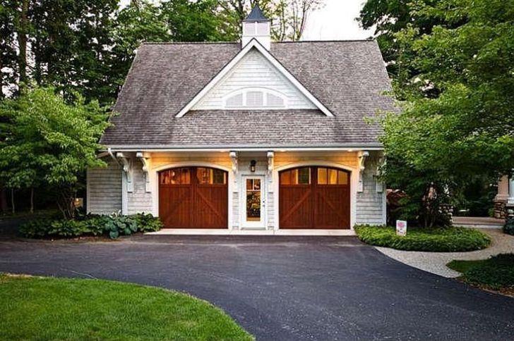 Cottage Style Garage Doors: Cottages Style, Detached Garage, Decor