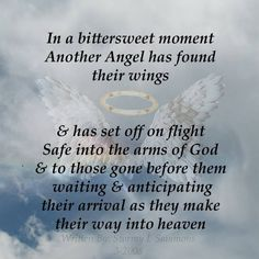 God Has Gained A New Angel Today Quotes Quotes Death Quotes