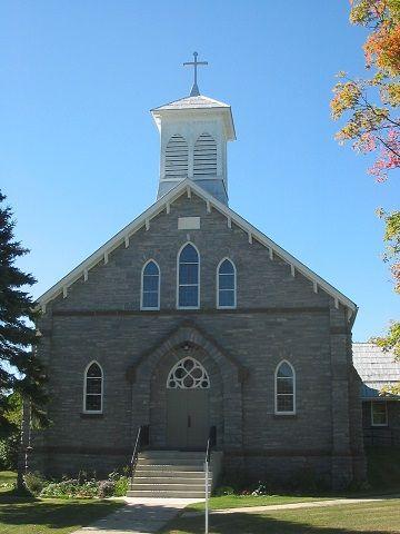 Lanark Highlands (église Sacred Heart of Jesus), Ontario, Canada (45.017807, -76.367890)