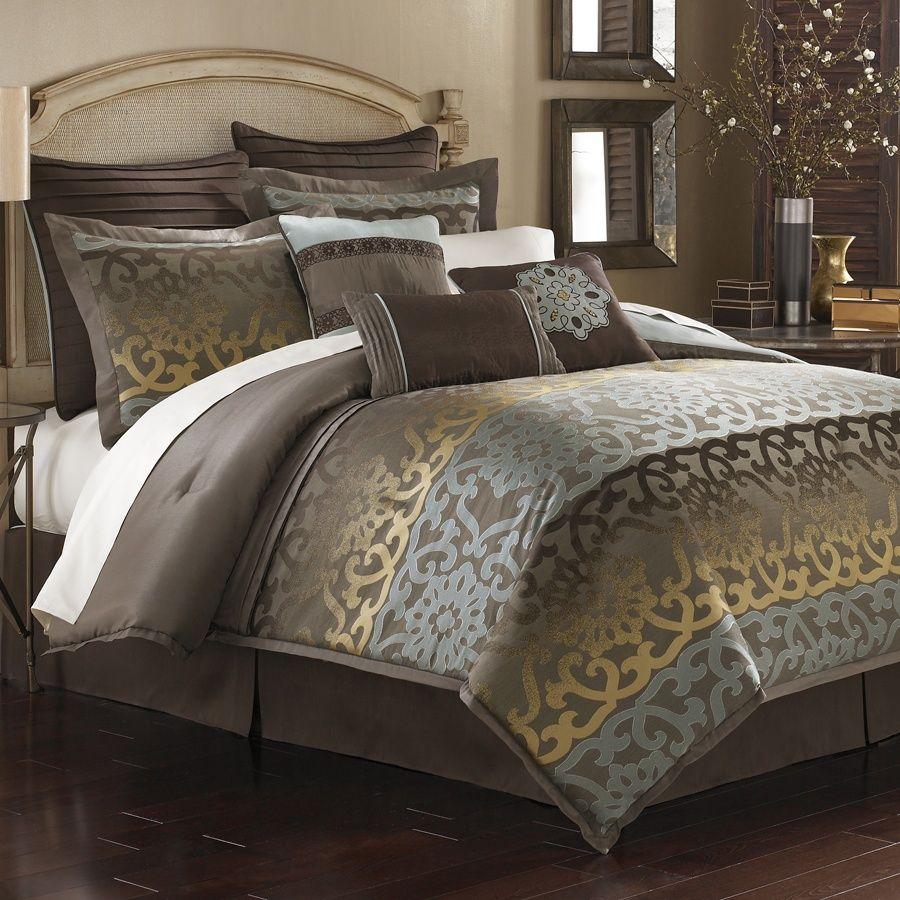 Bcp Home Inc Domenica Brazzi Orlando Bedding Collection Comforter Sets Elegant Bedding Bedding Collections