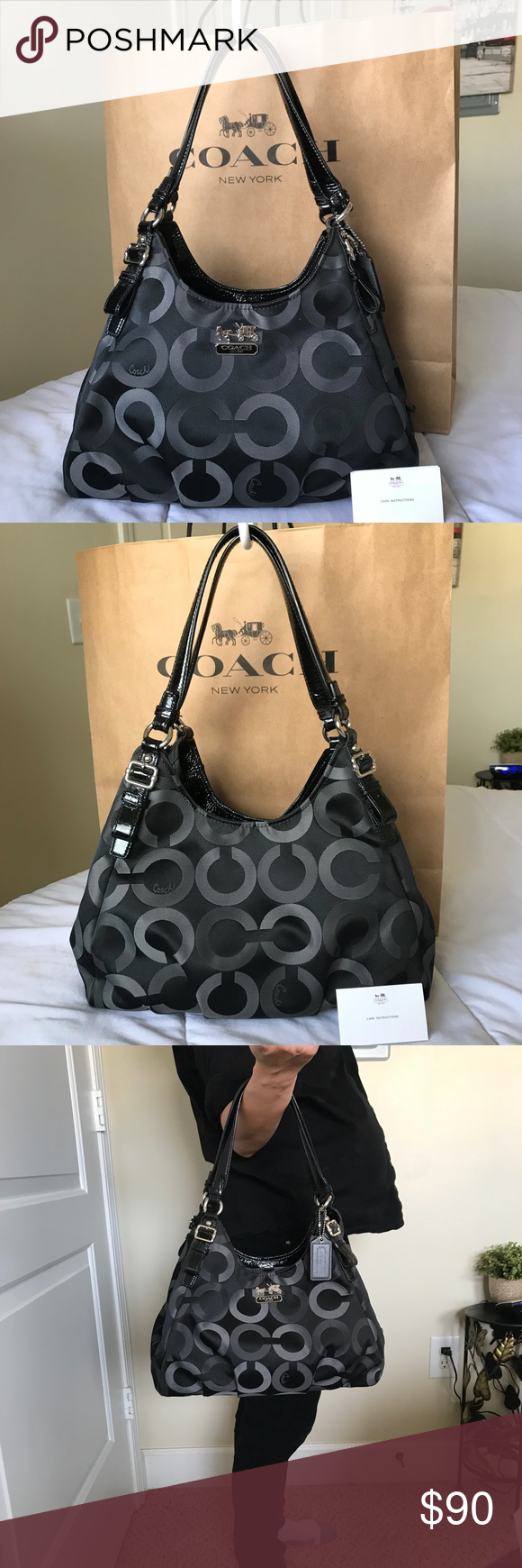 e1b339c584 ... france sold authentic coach purse 100 authentic coach. serial number  c1276 611b0 bbe45