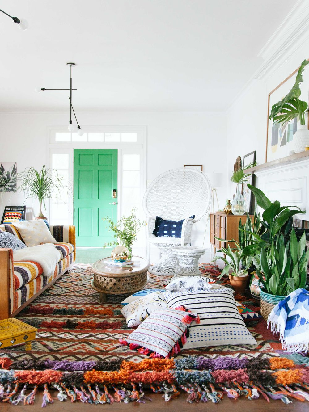 Boho Modern Living Room: 3 Ways To Style A Modern Living Room With Fab
