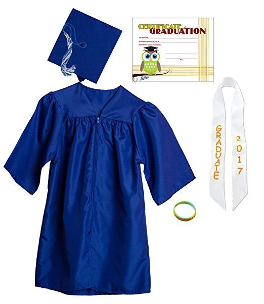 Jostens Graduation Cap And Gown Package Small Royal Blue ...