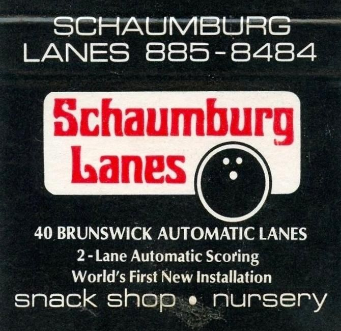 Schaumburg Lanes Bowling Alley My Love Chicago Street Chitown