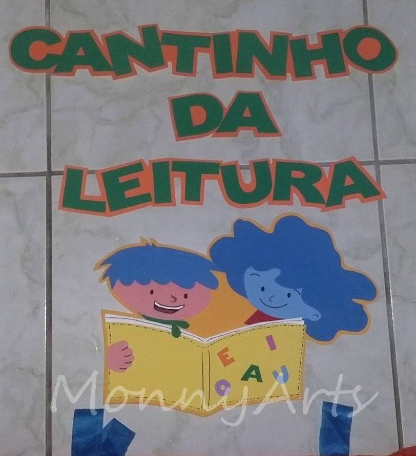 Painel Cantinho da Leitura: Turma dos Amigos do COC.