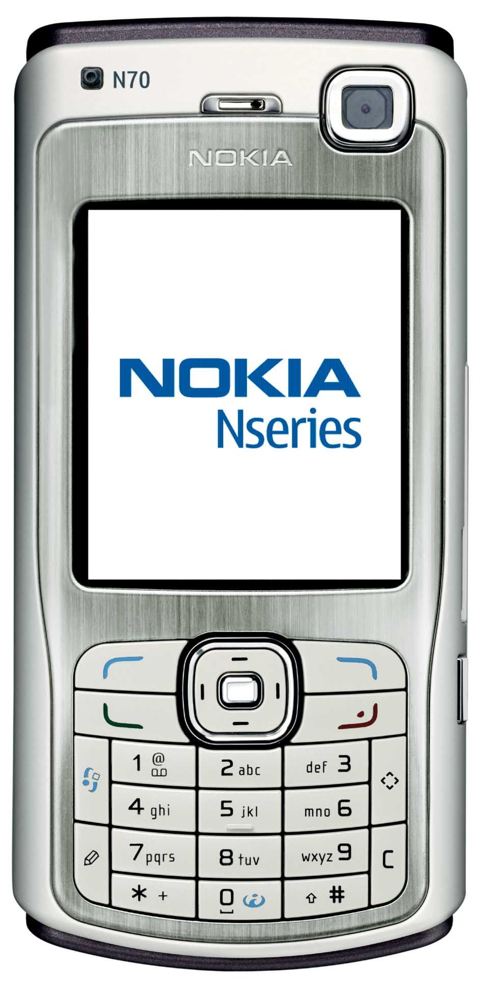 My third mobile handset and my first smartphone    The Nokia