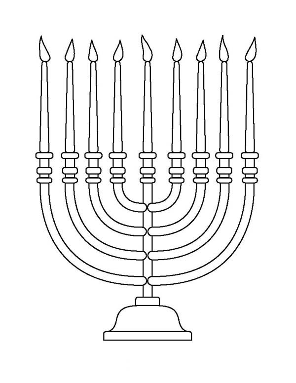 Pin By Jennifer Schreiber On Hebrew Coloring Pages Menorah Christmas Coloring Pages