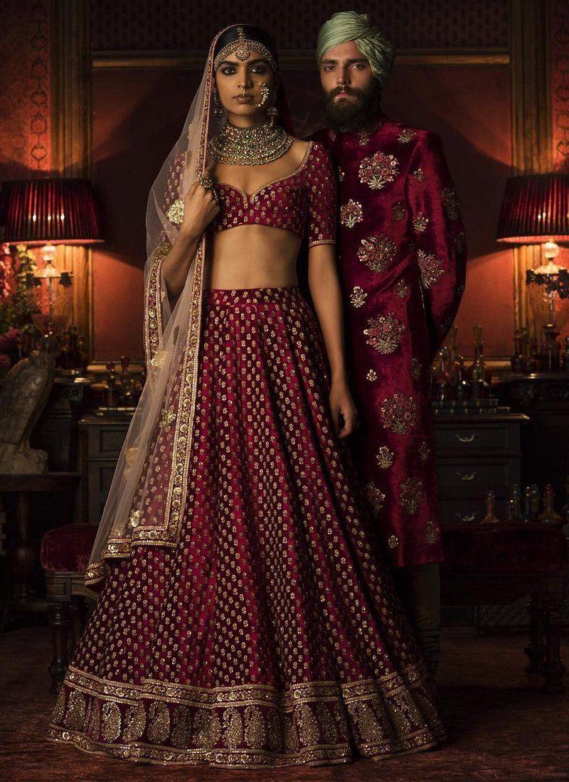 bfbde2098336 Exclusive heavy designer beautiful maroon color party lehenga choli  stylizone blush also rh pinterest
