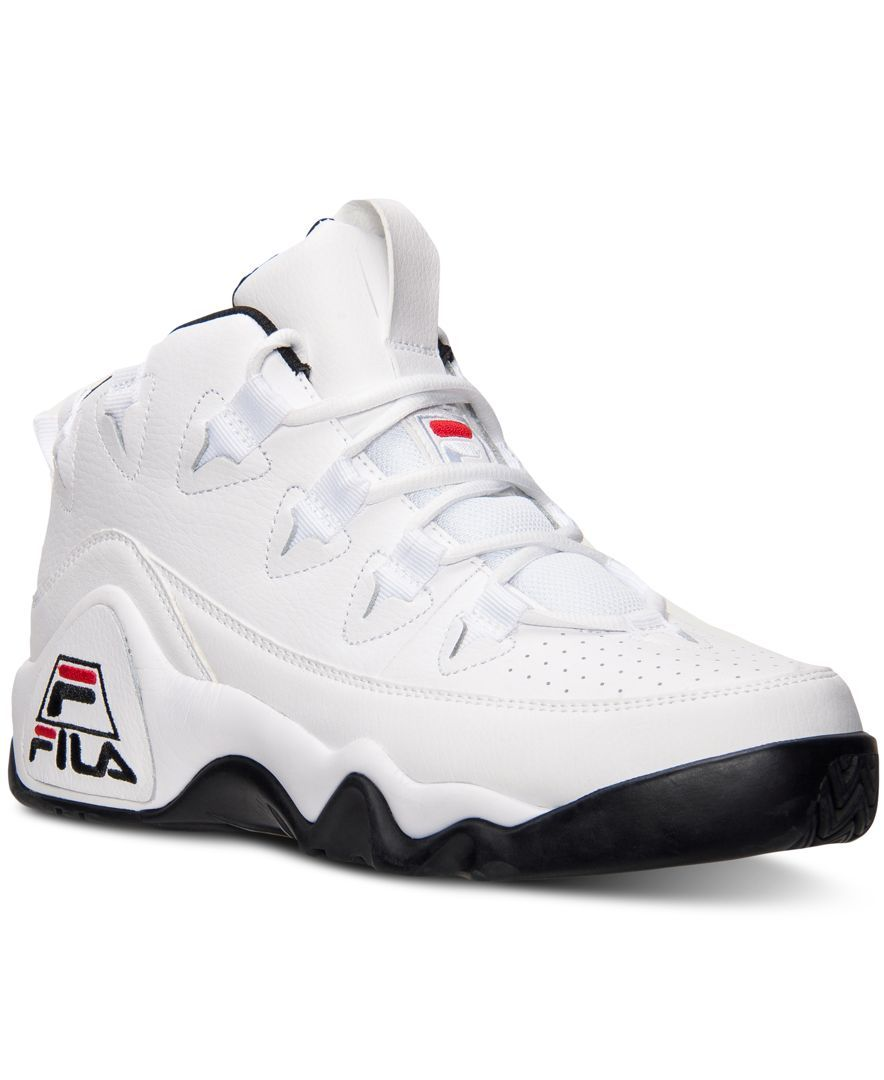 detailed look 88d2f c6db3 Fila Men s The 95 Basketball Sneakers from Finish Line