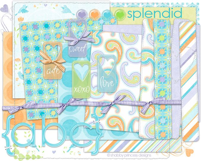 Tuesday's Guest Freebies ~ Shabby Princess ♥♥Join 3,600 people. Follow our Free Digital Scrapbook Board. New Freebies every day.♥♥