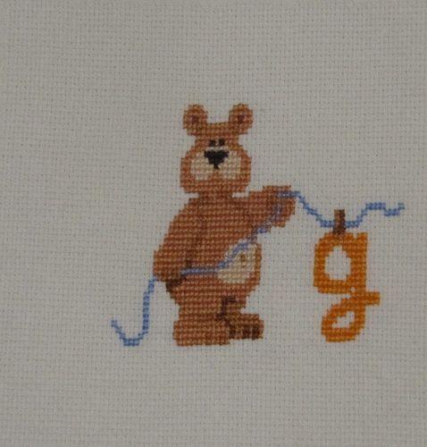 Urso do Gonçalo   par - Pontinhos Meus -