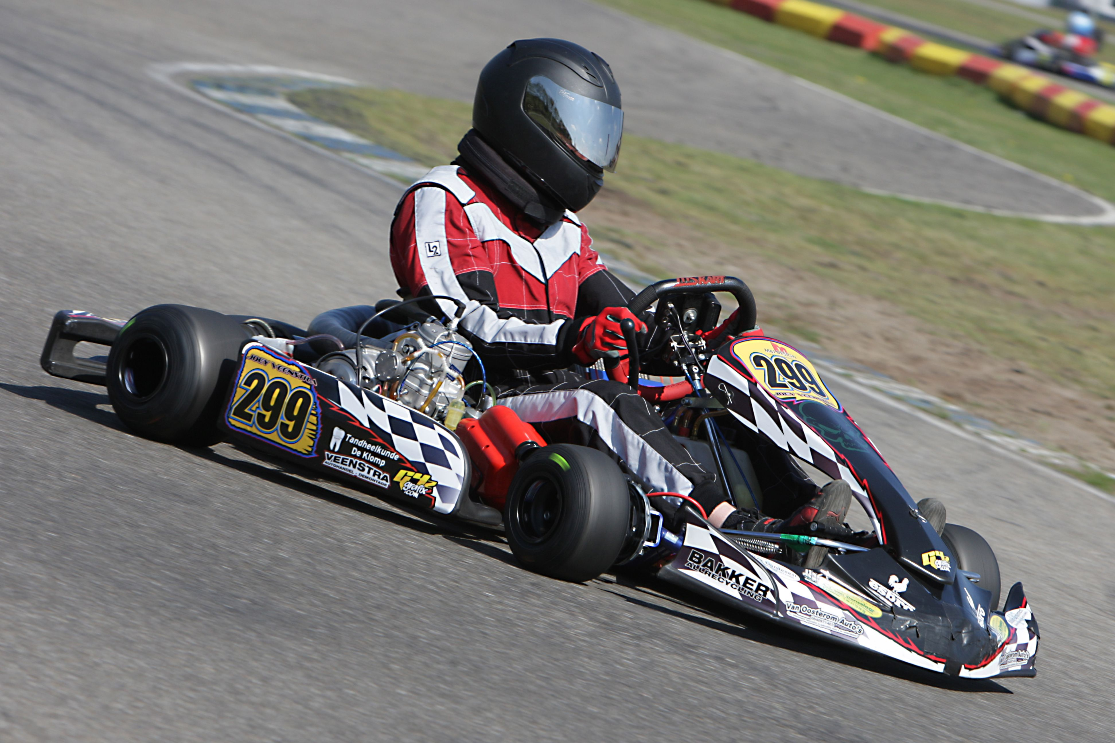 Joey Veenstra 299 Karting Gk4 125cc Schakel Circuit Park Berghem Karting Go Kart Kart Racing