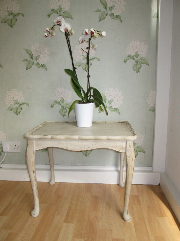 Details about Annie Sloan distressed painted coffee table ...