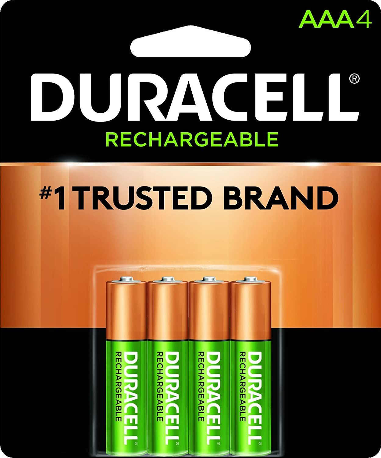 Amazon Duracell Rechargeable Aaa Batteries Long Lasting All Purpose Triple A Battery For Household And Business 4 Count Just As Low As 4 14 W Subscrib Duracell Rechargeable Batteries Aaa Battery Charger