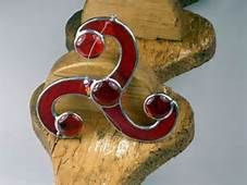 stained glass celtic triskele - Yahoo Image Search results