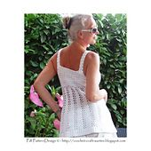 Ravelry: The White Lace Top pattern by Ingunn Santini
