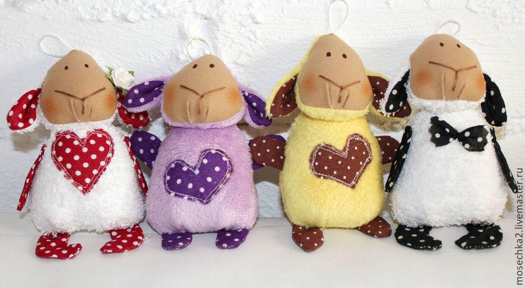 Купить Сумчатый бараш 2 - овечка, брелок, символ 2015 года, игрушка в подарок, подарок