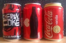 (C) ROMANIAN EMPTY COCA-COLA CANS, DIFFERENT EDITION, 4