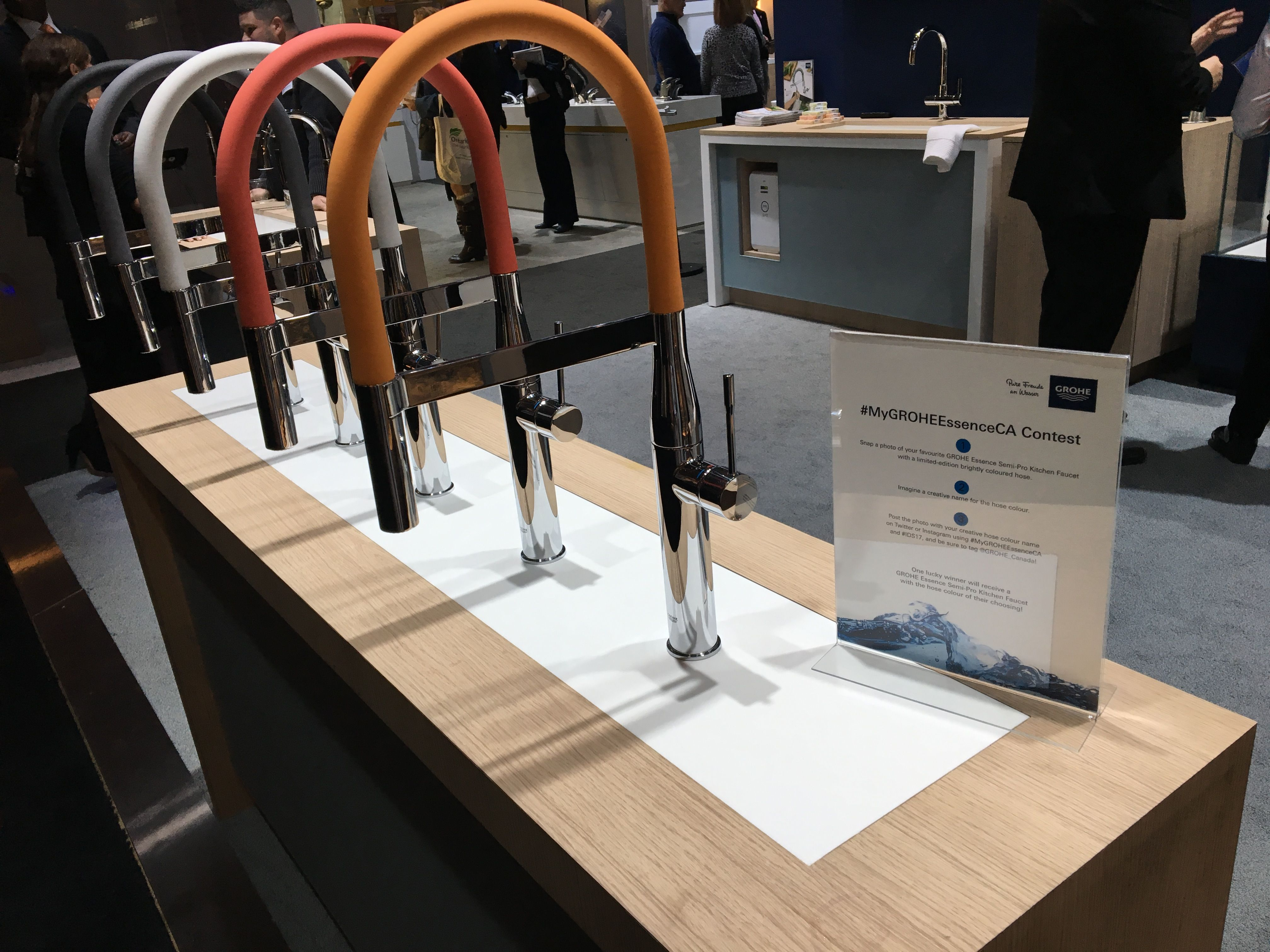 Our Limited Edition Coloured Grohe Essence Semi Pro Kitchen